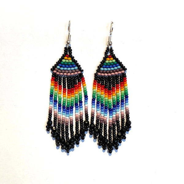 Tribal Earring Small Multi