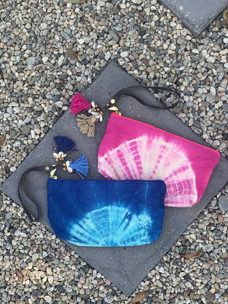 Tie Dye Puka Shell Wristlet Pink - Pre Order for May 15th - 30th