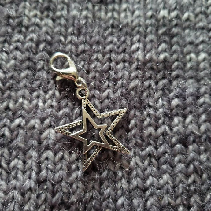 Double Star Progress Keeper/stitch markers