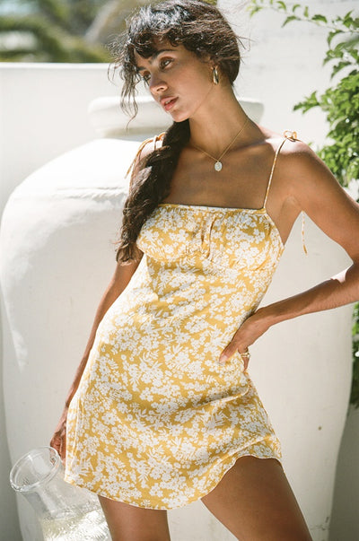 Sarai Dress - Yellow