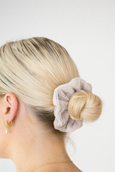 Soft Scrunchie - Grey