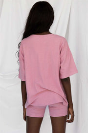 Archer Tee - Grainy Pink