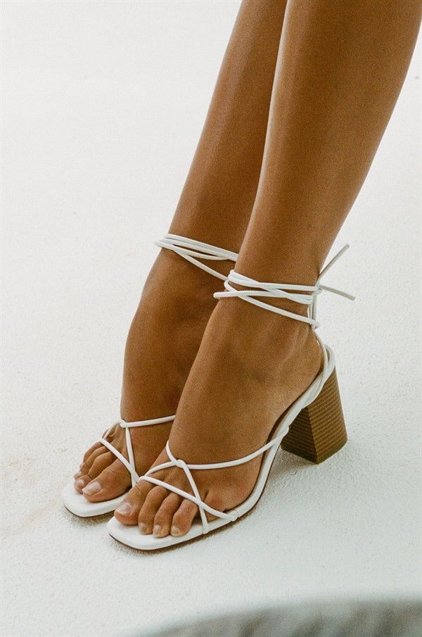 Strappy Harlow Heels