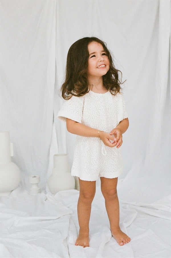 East Mini Playsuit - Cloud