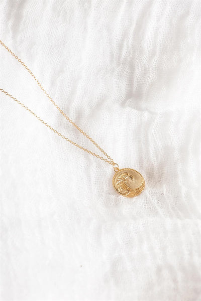 18K Golden Wave Necklace