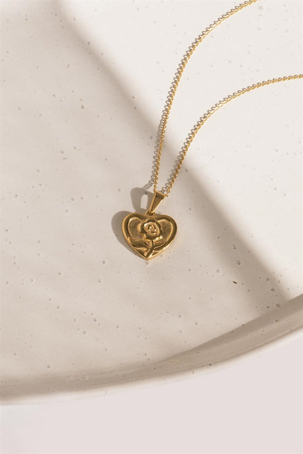 Golden Heart Necklace