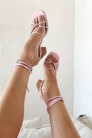 Roxo Strappy Sandals - Pink