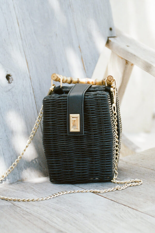 Caviar Wicker Bag