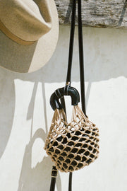 Marbella Net Bag - Black