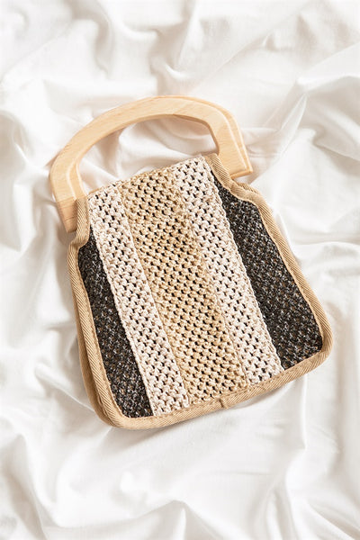 Mini Mesh Stripe Bag