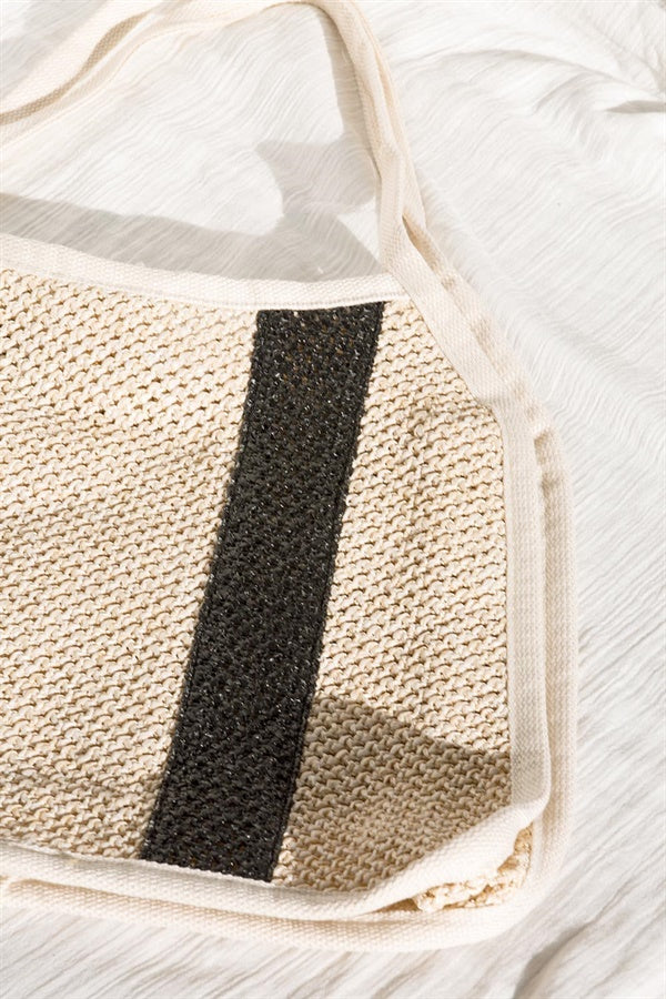 Stripe Shopper Bag