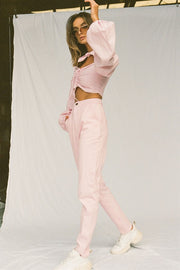 SAMPLE-Artique Trousers - Pink