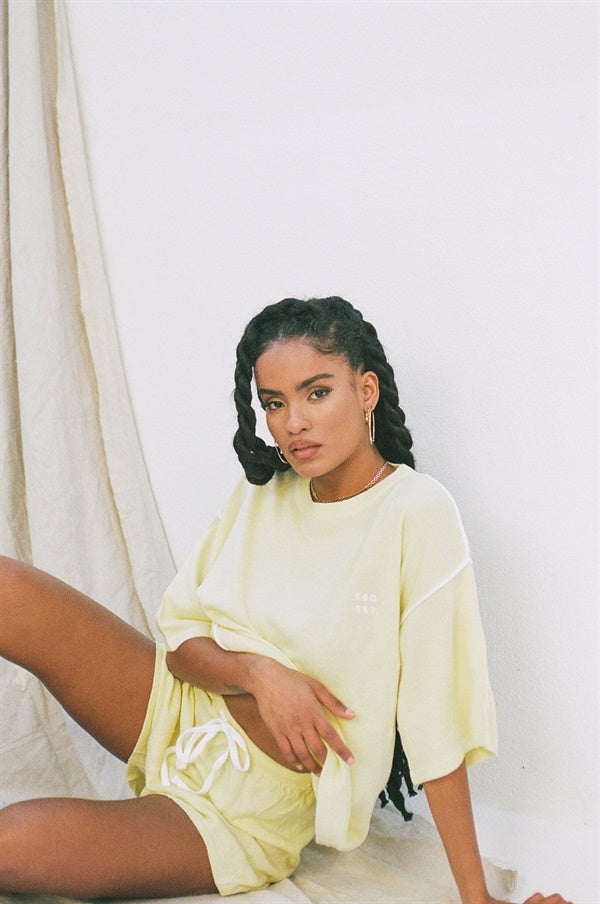 SAMPLE-Jolie Shorts - Lemon