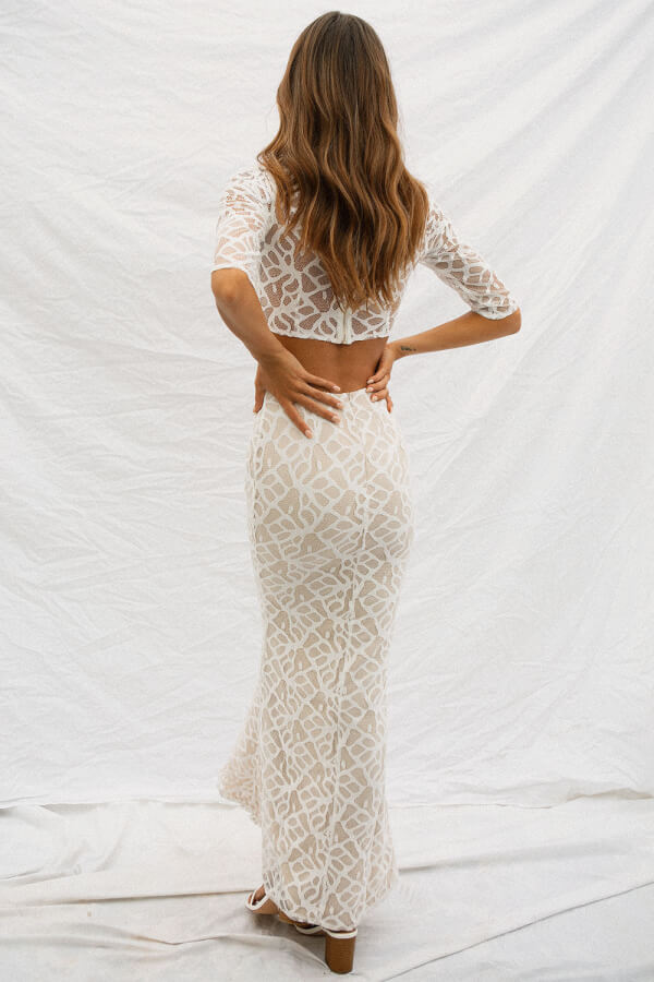 Majesty Lace Skirt