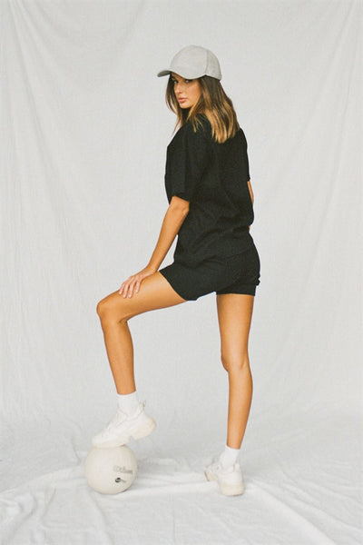 Mellow Bike Shorts - Black