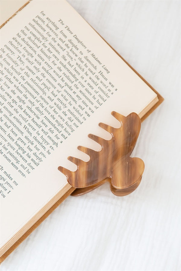 Oak Claw Hair Clip