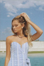 Strapless Jhazelle Dress