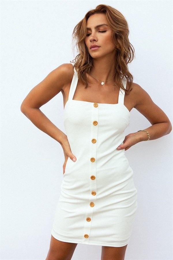 Ariya Dress - White