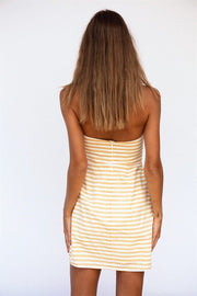 Citrus Stripe Dress