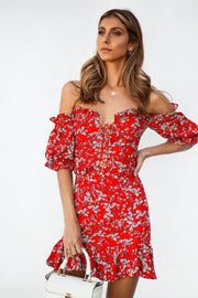 Flor Corset Dress
