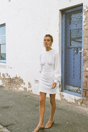 SAMPLE-Koi Dress - White