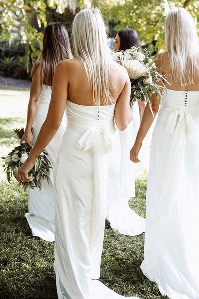 SAMPLE-Milan Bridesmaid Dress - Ivory