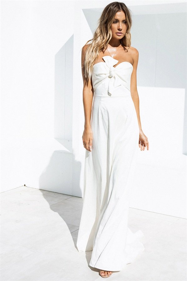 SAMPLE-Venice Bridesmaid Dress - Ivory