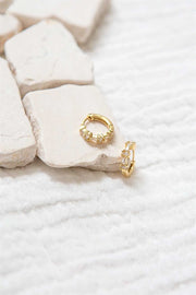 18K Vine Earrings