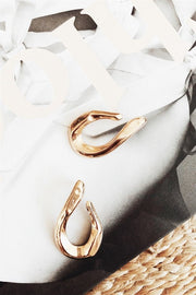 Golden Hook Earrings