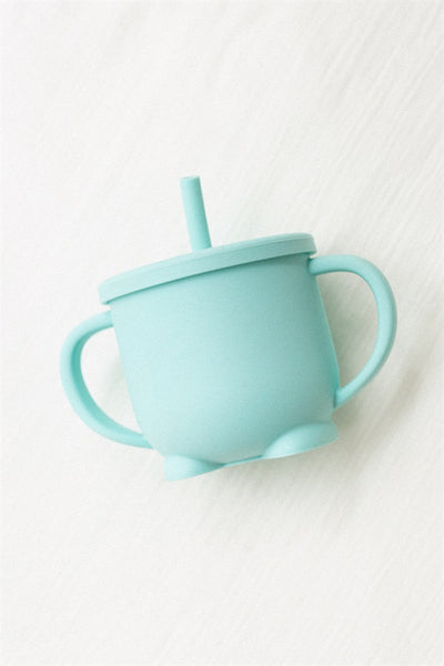 Kids Sippy Cup - Aqua