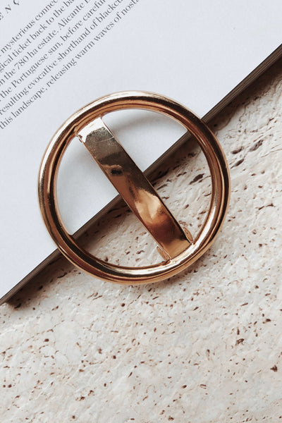Ring Hair Pin