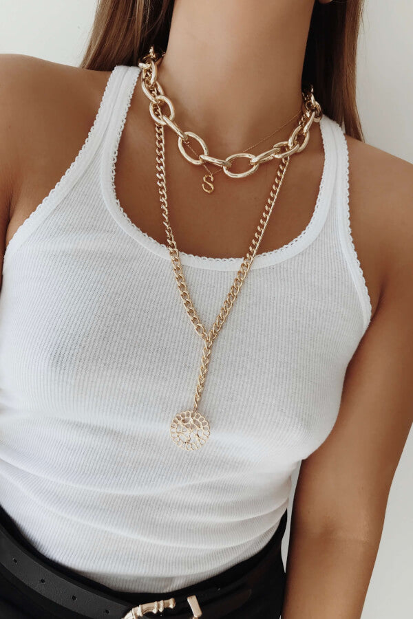 Twin Chain Necklace