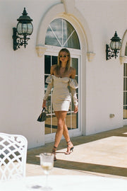 Taupe Sleeve Dress