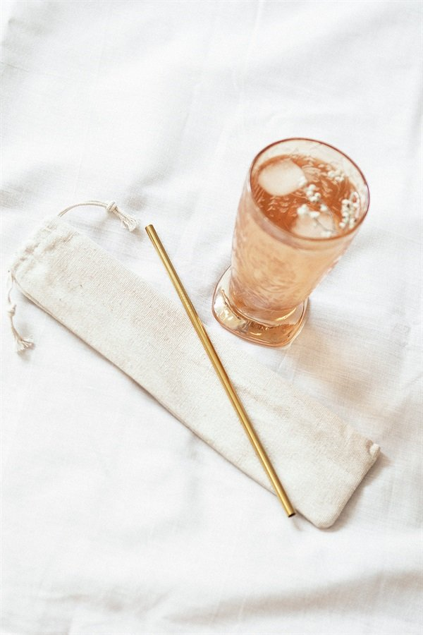 Eco Straw - Gold