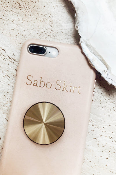 Golden Pop Socket