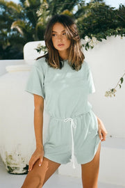 East Playsuit - Mist