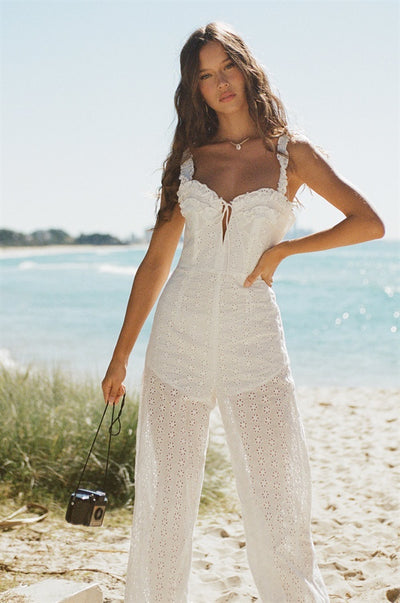 Hart Jumpsuit - White
