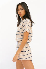 Khari Stripe Playsuit