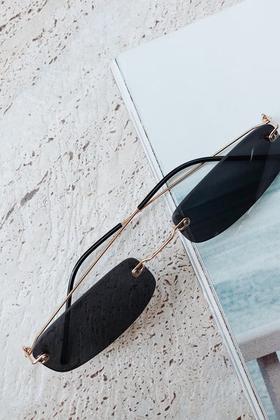 Dainty Naomi Sunglasses - Black