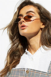 Micro Oval Sunglasses