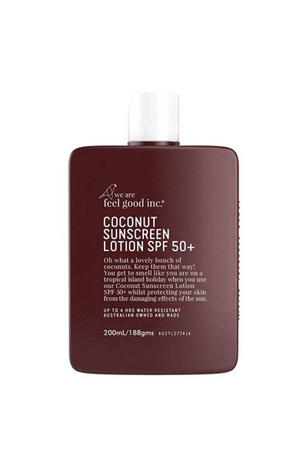 Coconut Sunscreen 50+ 200ml