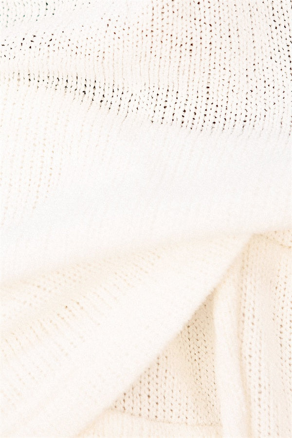 SAMPLE-Billie Top - Cream Knit