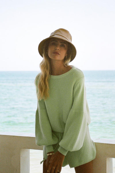 Mint Knit Top