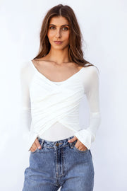 Off Shoulder Bay Bodysuit