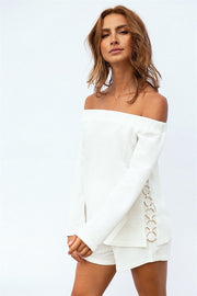 SAMPLE-Raine Off Shoulder Top