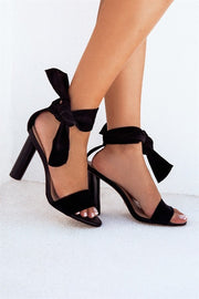 SAMPLE-Rehana Heels - Black