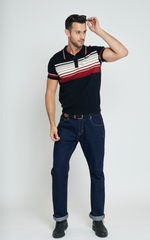 Peru Striped Polo