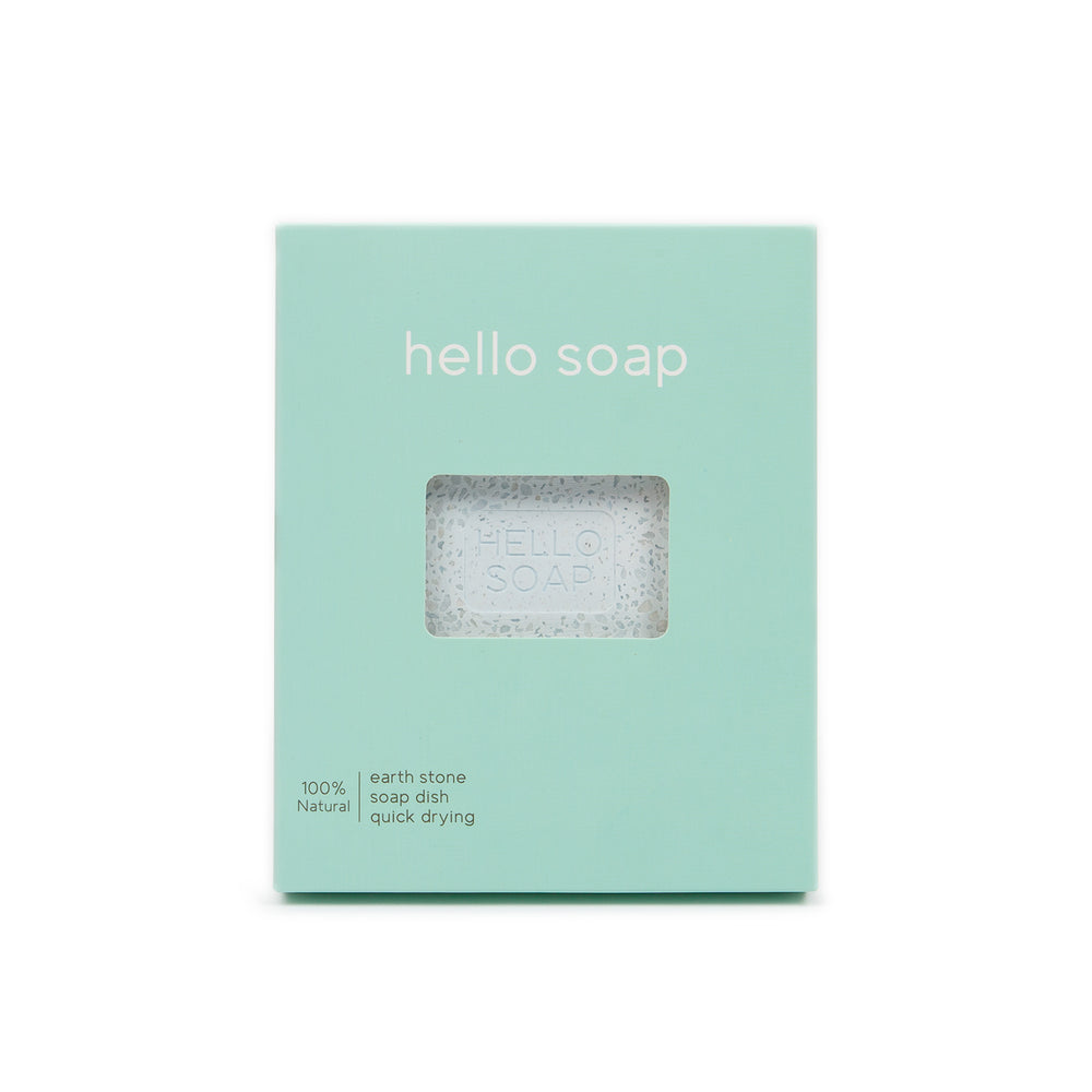 "Kalastyle Home Blue ""Hello Soap"" Dish"