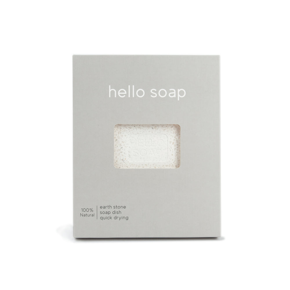 "Kalastyle Home Grey ""Hello Soap"" Dish"