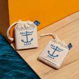 Swedish Dream® Sea Salt Soap Travel Size Bar & Soap Saver